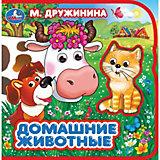 Книжка Домашние животные: два героя, М. Дружинина