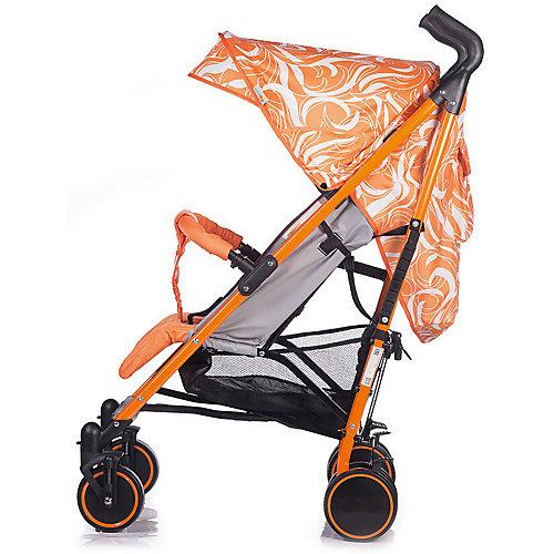 Коляска-трость Babyhit Handy, бело-оранжевая от Baby Hit