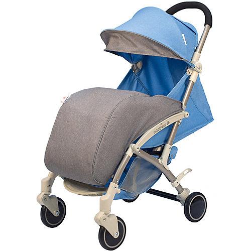 Коляска прогулочная Babyhit Allure голубая с серым, светлая рама от Baby Hit