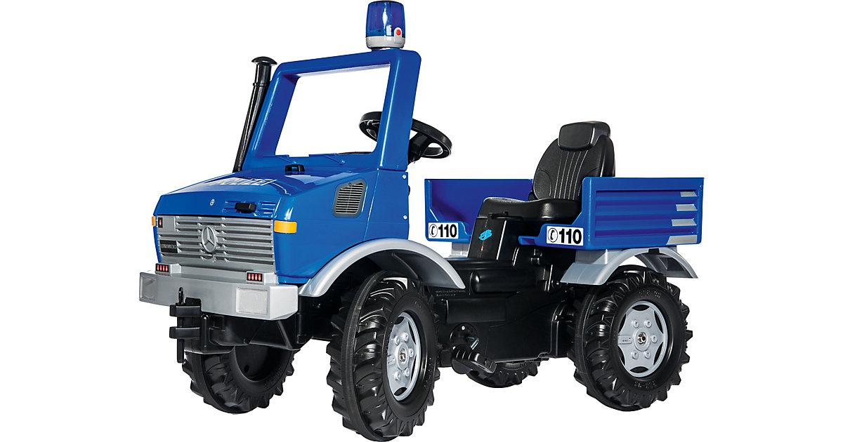 rolly toys · rolly toys rollyUnimog mit Polizei mit Blaulicht 038183