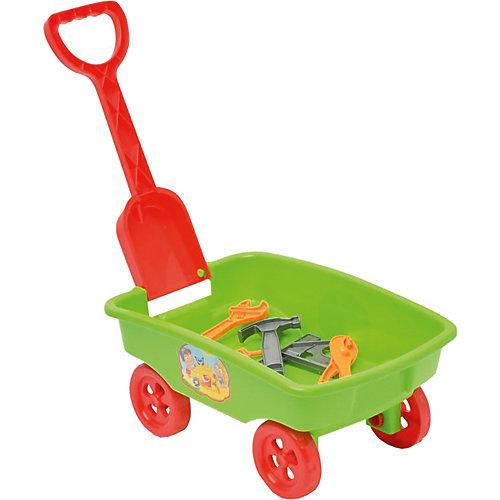 """Игровой набор Zebratoys """"Тележка с инструментами"""", зеленый от Zebratoys"""