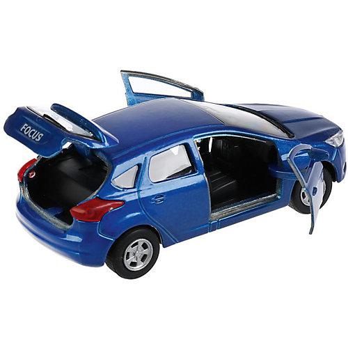 Инерционная машина Технопарк Ford Focus, синий от ТЕХНОПАРК