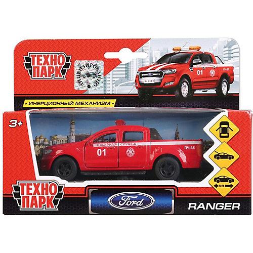 Инерционная машина Технопарк Ford Ranger, Пожарный пикап от ТЕХНОПАРК