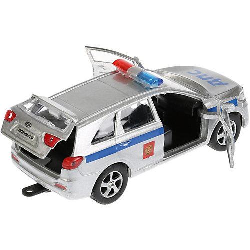 Инерционная машина Технопарк KIA Sorento Prime Полиция + лодка от ТЕХНОПАРК