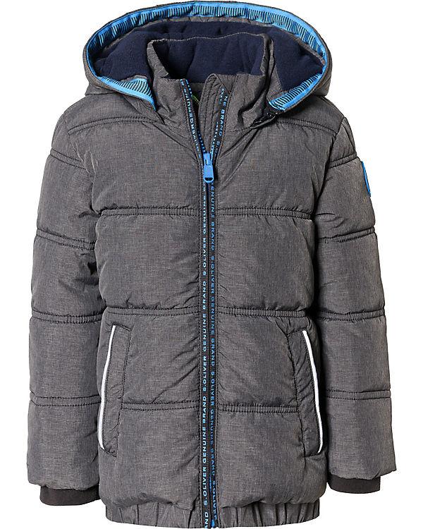 spätester Verkauf Wählen Sie für echte Online kaufen Winterjacke mit abnehmbarer Kapuze und Fleecefutter für Jungen, s.Oliver