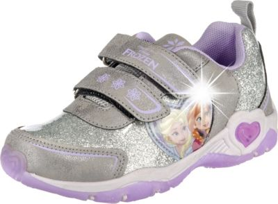 Disney die Eiskönigin Sneakers Low Blinkies für Mädchen, Disney Die Eiskönigin