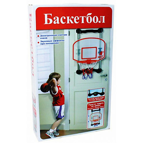 Баскетбольный щит c корзиной 1Toy от 1Toy