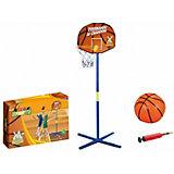 Баскетбольная стойка 1Toy с мячом