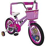 Двухколесный велосипед Navigator Barbie, 16 дюймов