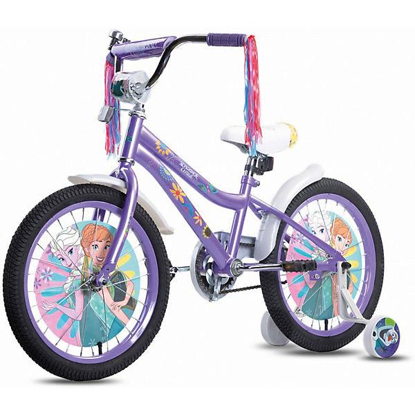 """Двухколесный велосипед Navigator DISNEY """"Холодное сердце"""", колеса 18""""."""