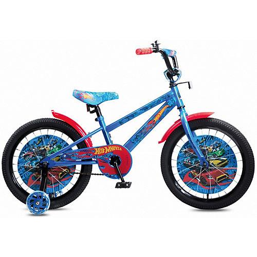 Двухколесный велосипед Navigator Hot Wheels, 18 дюймов - разноцветный от Navigator
