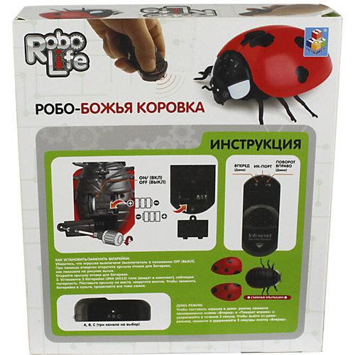 """Робот на инфракрасном управлении 1Toy """"Robo Life"""" Робо - божья коровка от 1Toy"""