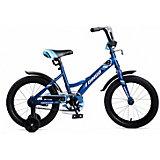 Двухколесный велосипед Navigator Bingo, 16 дюймов, синий