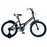Двухколесный велосипед Navigator Bingo, 18 дюймов, синий