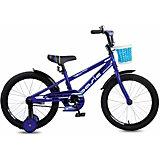 Двухколесный велосипед Navigator Basic, 18 дюймов, фиолетовый