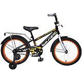 Двухколесный велосипед Navigator Basic, 18 дюймов, оранжевый