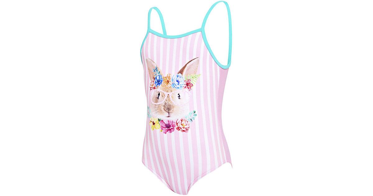 Badeanzug TROPICAL BUNNY U BACK pink Gr. 92 Mädchen Kleinkinder