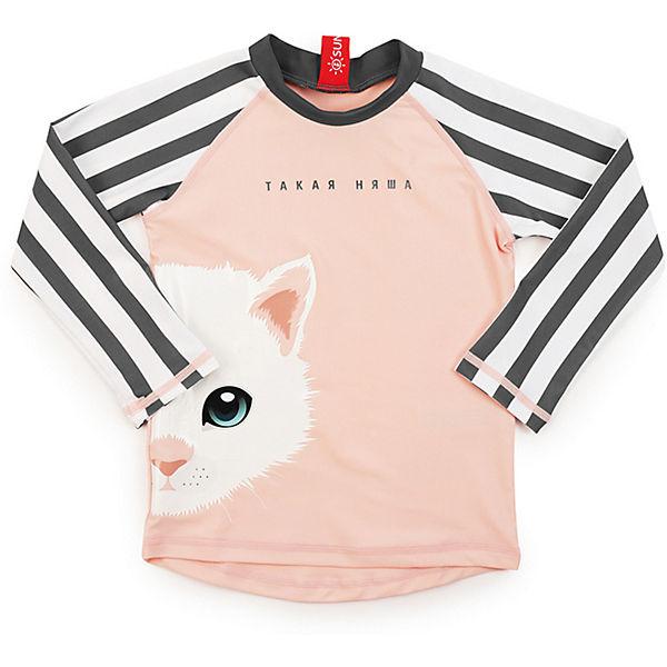 Купальная футболка Happy Baby для девочки