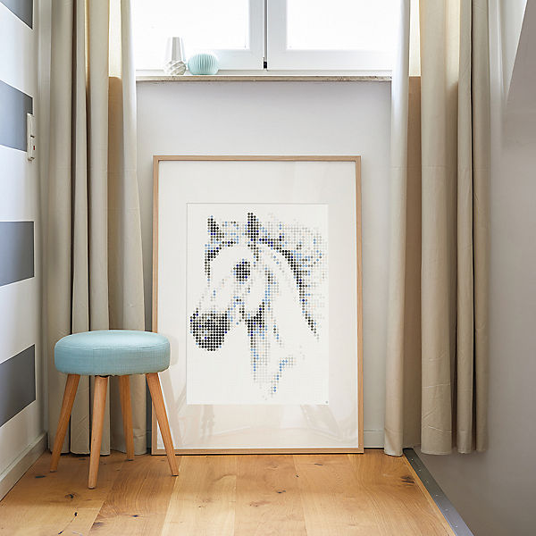 dot on art - animals - horse, 50 x 70 cm
