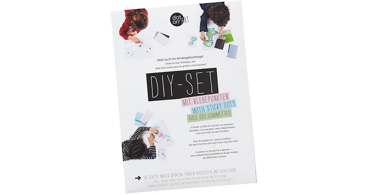 dot on art - DIY-Bastelset Kindergeburtstage  Kinder