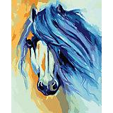 Набор для раскрашивания по номерам Артвентура «Лошадь Марсии Болдуин»