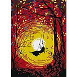 Набор для раскрашивания по номерам Артвентура «Волшебные качели»