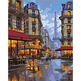 Набор для раскрашивания по номерам Артвентура «Вечерний Париж»
