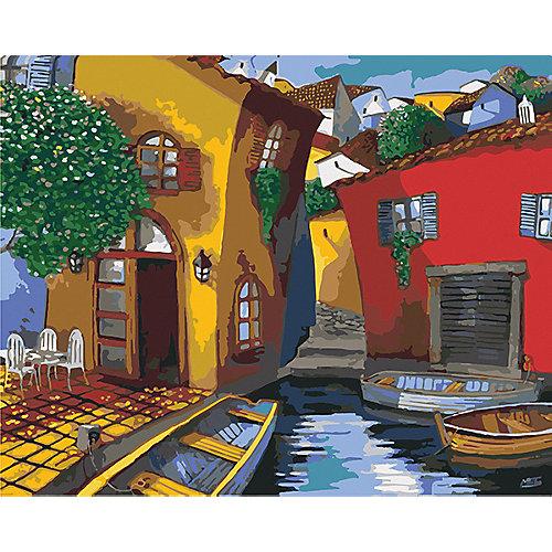 Набор для раскрашивания по номерам Артвентура «Улочки Венеции Мигеля Фрейтаса» от Артвентура