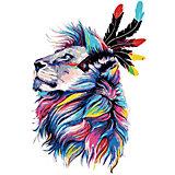Набор для раскрашивания по номерам Артвентура «Король львов»