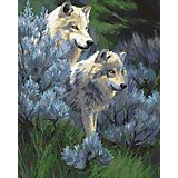 Набор для раскрашивания по номерам Артвентура «Волчья верность»