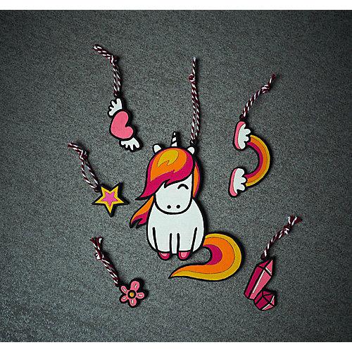 Раскраска-подвеска по дереву Grifit «Радужная пони» от Grifit