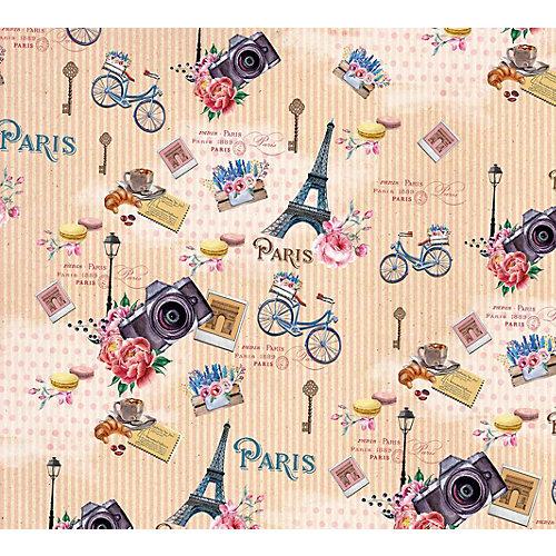"Упаковочная бумага Феникс-Презент ""Прогулка по Парижу"" от Феникс-Презент"