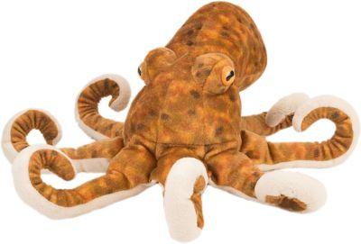 Plüschtier Tintenfisch als Schlüsselanhänger Stofftier l ca. 10 cm Oktopus