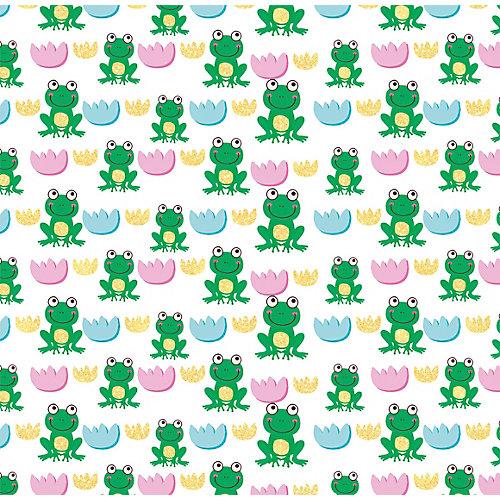 "Упаковочная бумага Феникс-Презент ""Зелёная лягушка"" от Феникс-Презент"