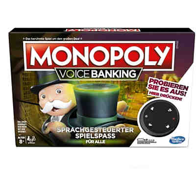 Monopoly Voice Activated Banking