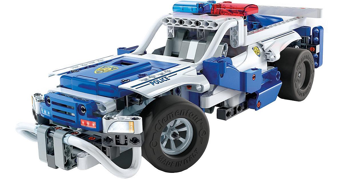 Clementoni Construction Challenge - Polizeifahrzeuge bunt