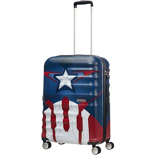 Чемодан American Tourister Капитан Америка, 64 л - разноцветный от American Tourister