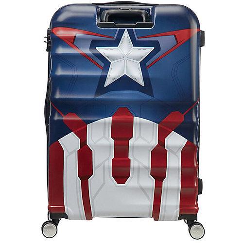 Чемодан American Tourister Капитан Америка, высота 77 см - разноцветный от American Tourister