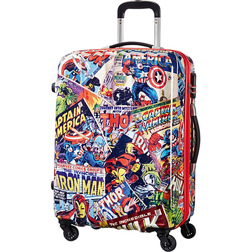 Чемодан American Tourister Комиксы, 52 л - разноцветный от American Tourister
