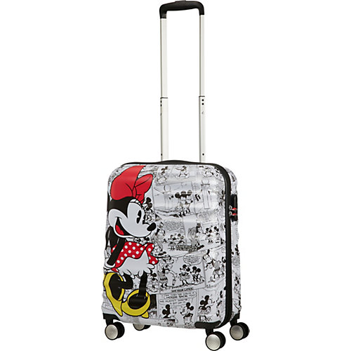 Чемодан American Tourister Минни комиксы белые, высота 55 см - разноцветный от American Tourister