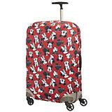 Чехол для чемодана Samsonite Микки, Минни, красный 69-75 см