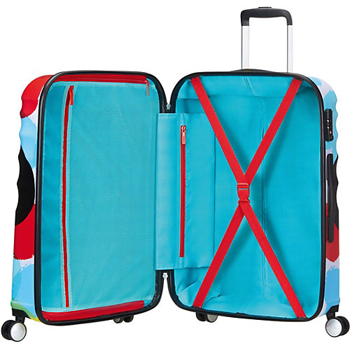 Чемодан American Tourister Микки крупным планом, 64 л - разноцветный от American Tourister