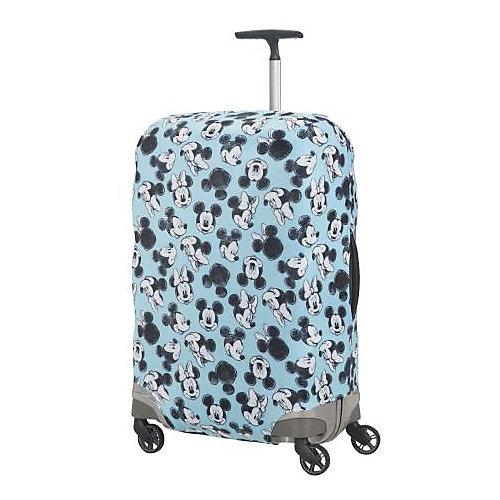 Чехол для чемодана Samsonite Микки, Минни, синий 69 см - разноцветный от Samsonite