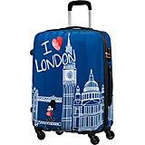 Чемодан American Tourister Микки Лондон, высота 65 см