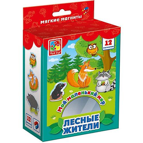 """Мягкие магниты Vladi Toys """"Мой маленький мир"""" Лесные жители от Vladi Toys"""