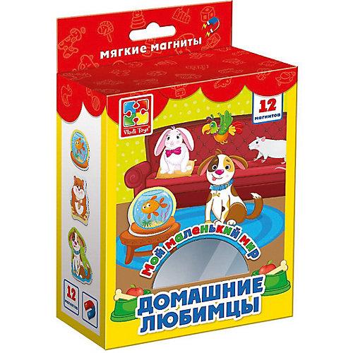 """Мягкие магниты Vladi Toys """"Мой маленький мир"""" Домашние любимцы от Vladi Toys"""