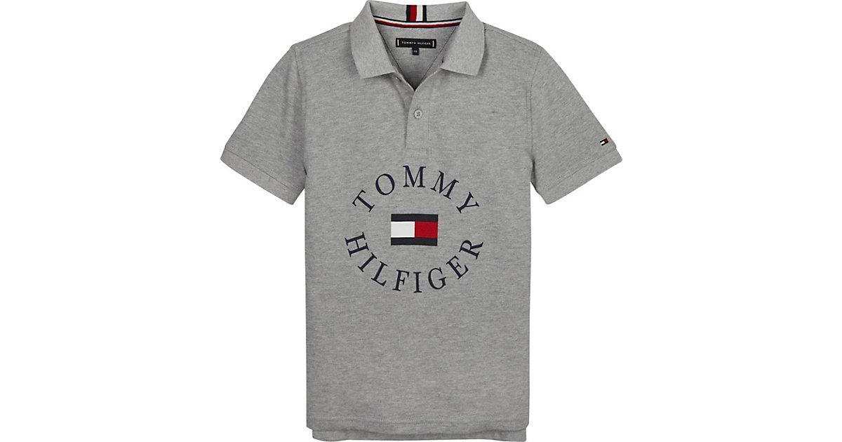 Tommy Hilfiger · TOMMY HILFIGER Shirt HILFIGER GRAPHIC POLO S/S Poloshirts Gr. 164 Jungen Kinder
