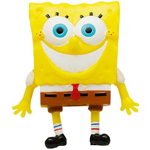 """Игрушка-антистресс SpongeBob """"Улыбающийся Губка Боб"""", 9 см от Alfa Group"""