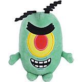 """Плюшевая игрушка SpongeBob """"Шелдон Планктон"""", 15 см"""