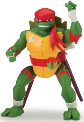 PLAYMATES ROTMNT 15 cm Deluxe Action Figur Donatello seitwärts Rolle Attacke
